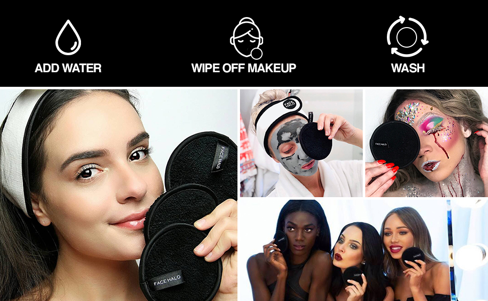 face pads cotton rounds eye makeup remover pads