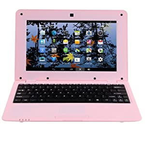 179  Goldengulf 2020 Latest 10 Inch Computer Laptop PC Android 6.0 Quad Core Mini Notebook Netbook 8GB WiFi Webcam USB Netflix YouTube Google Player Flash (Pink) d84b3101 2d8a 443d ba14 b3f0457ad9f8