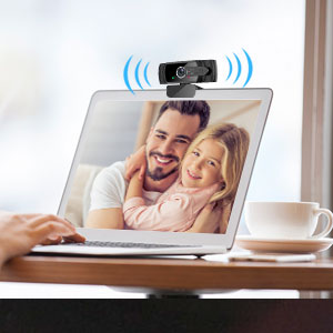 Webcam with Built-in Mic