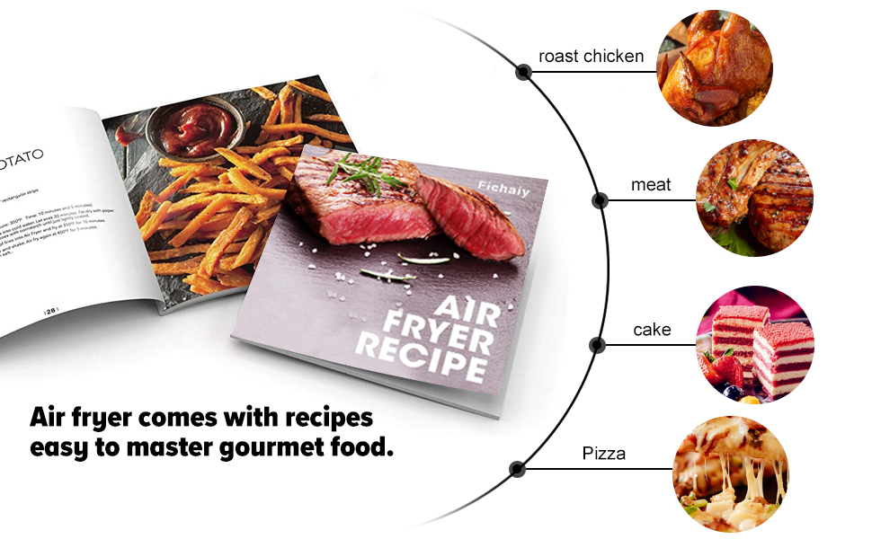 air fryer with recipes