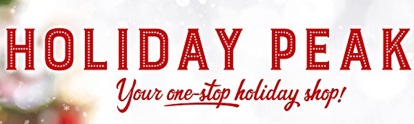 Holiday Peak your one stop holiday shop