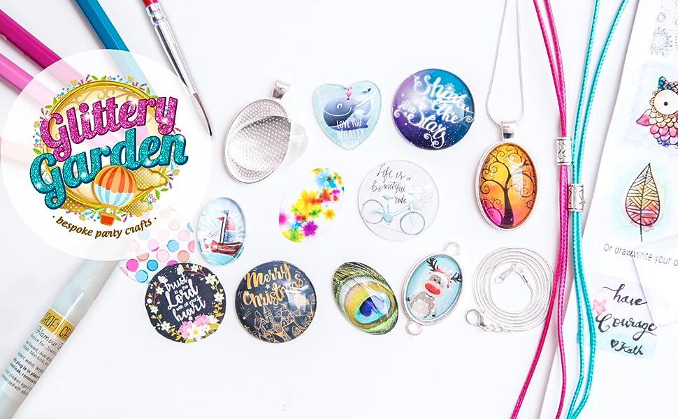 pendant jewelry girl craft kit gift