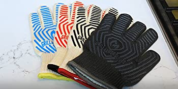 grilling oven heat resistant grill camp outdoor cooking kitchen mitts oven glove grill armor gloves