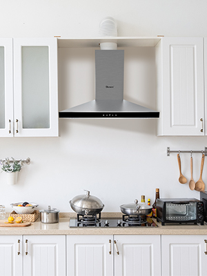 The wall-mounted cooker hood