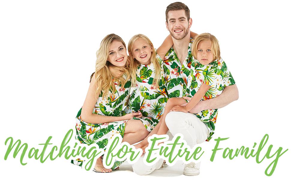 Hawaii Hangover Family Matching set