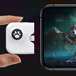 IFYOO Yao L1 PRO Mobile Game Controller Joystick for iPhone(iOS 13.4 or Later, For iOS Mobile Games)
