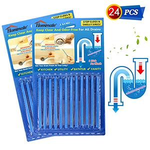 Drain Sticks Drain Stix Drain Cleaner & Deodorizer Sticks