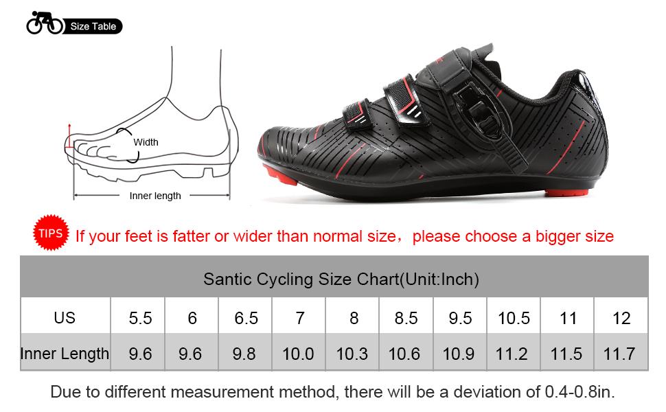 Amazon.com   Santic Cycling Shoes Men's