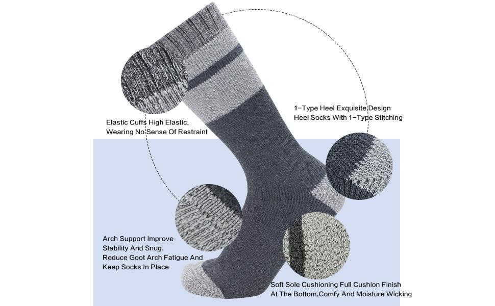 cushion work socks