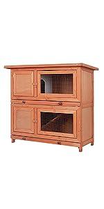 Hot sale rabbit hutch W06
