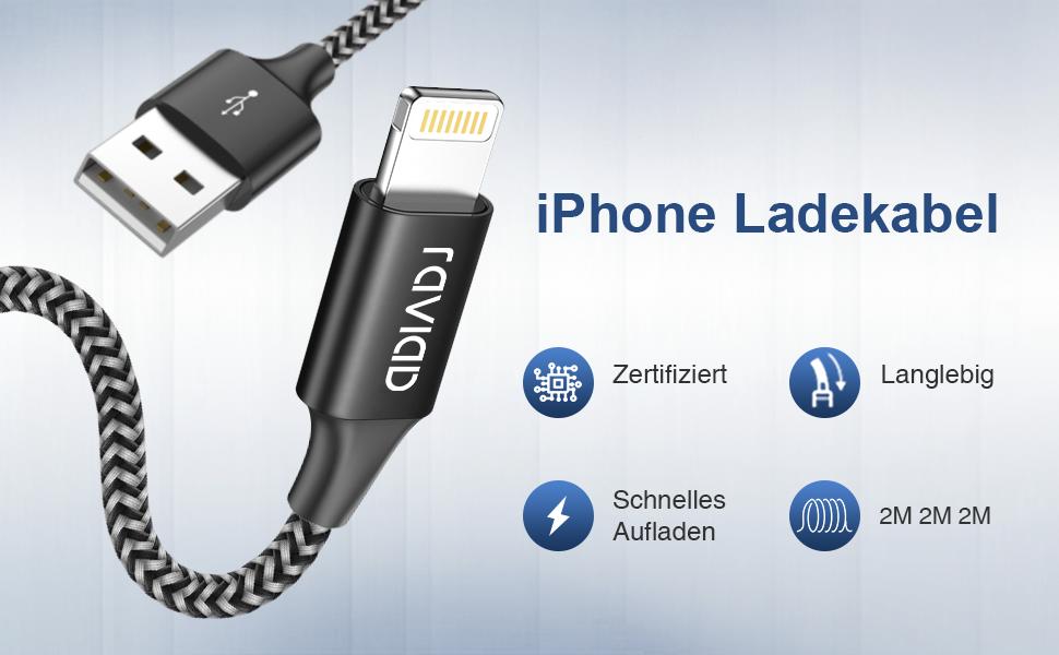 iPhone Ladekabel