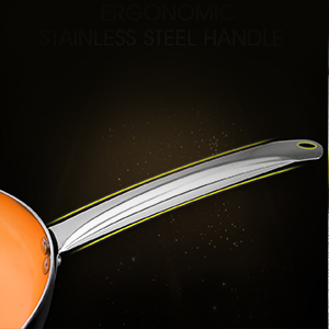 """11"""" Frying Pan with Lid, Ultra Nonstick Small Frying Pan"""