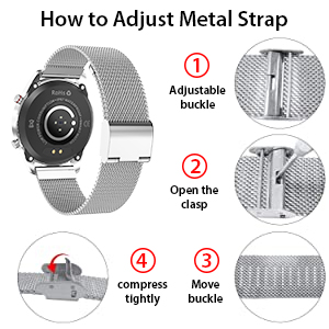 How to adjust the strap