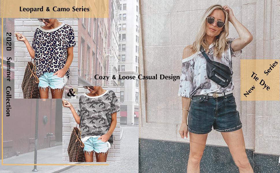 camo tops for women