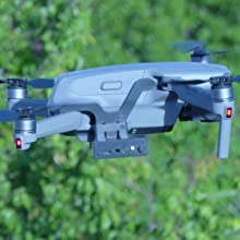 drone mavic AIR 2 release drop fishing payload bait mechanism delivery hook airdrop dropper fish