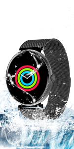Amazon.com: AllCall Waterproof smartwatch Android IP68 ...