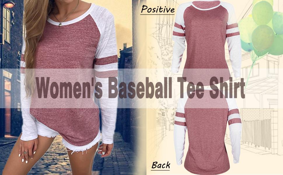 Majestically Awkward Womens Baseball Top