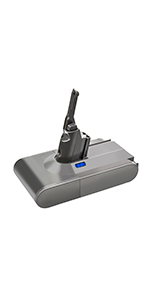 Dyson V8 replacement battery
