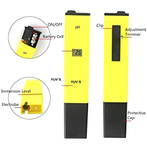 Imported Digital Pen Type PH Meter for Water Testing