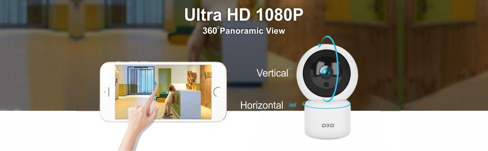 M1026 Indoor Home Security IP Camera