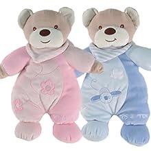 Tris & Ton Pack regalo recién nacido peluche doudou cinta ...