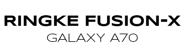 """3434Ringke Fusion-X Designed for Galaxy A70 Case Protection Shock Absorption Technology Cover (6.7"""")"""