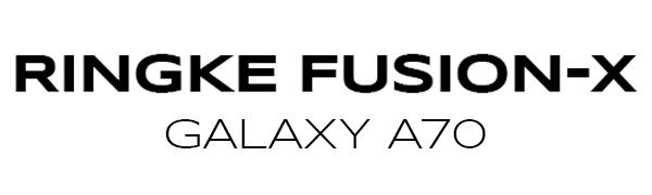 """3434Ringke Fusion-X Σχεδιασμένο για κάλυμμα τεχνολογίας Galaxy A70 Shock Absorption Technology Cover (6,7 """")"""