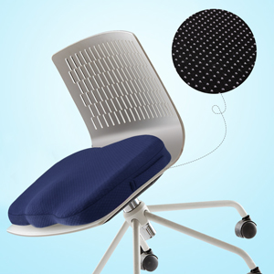 Advanced Office Chair Cushions with Innovative 3D Polymer, LUXEAR Seat Cushion