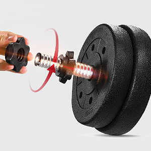 Easy to Adjust Dumbbell Weight