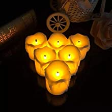 led candle dancing