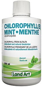 Chlorophyll body odors