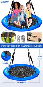 Blue Round swing