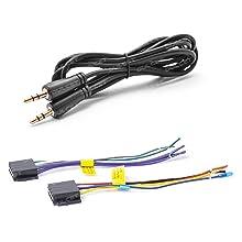 Dulcet DC-F90X 3.5mm Aux & Power Cables