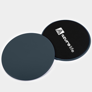 gray exercise sliders