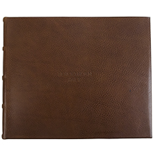 Chianti leather Guestbook