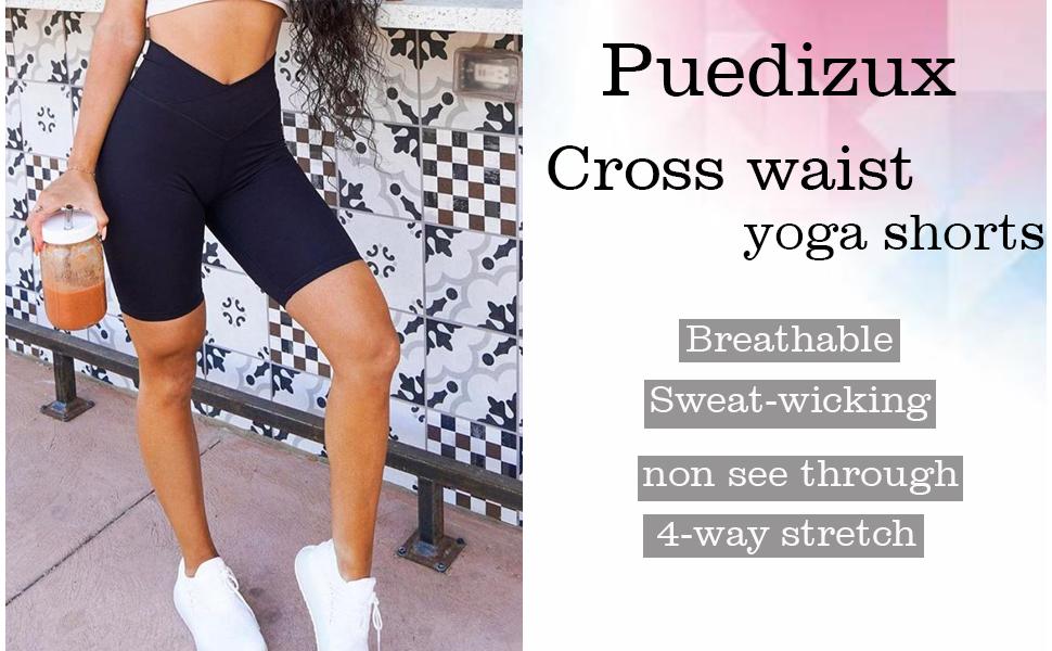 biker shorts for women High waisted