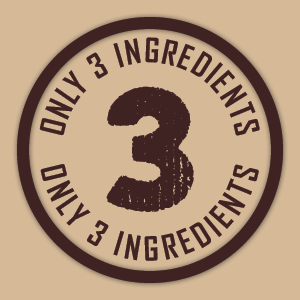 Only 3 Ingredients