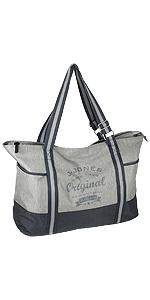 großer Damen Shopper Handtasche Freizeittasche