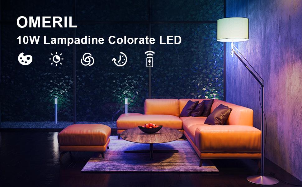 10W Lampadine Colorate LED E27