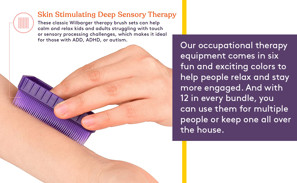 Sensory Brushes for kids and adults