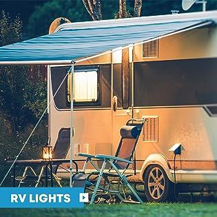 LED RV Exterior Porch Utility Light