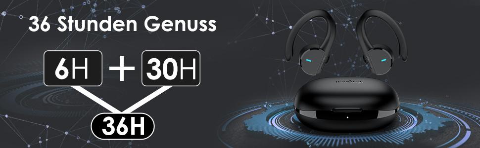 HolyHigh Bluetooth Kopfhörer Test - In Ear Sport IPX7 2021