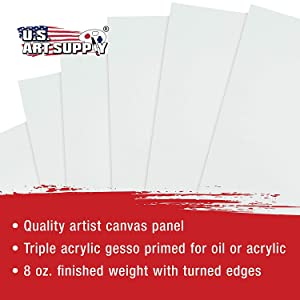 Artist Professional Canvas Panel Boards