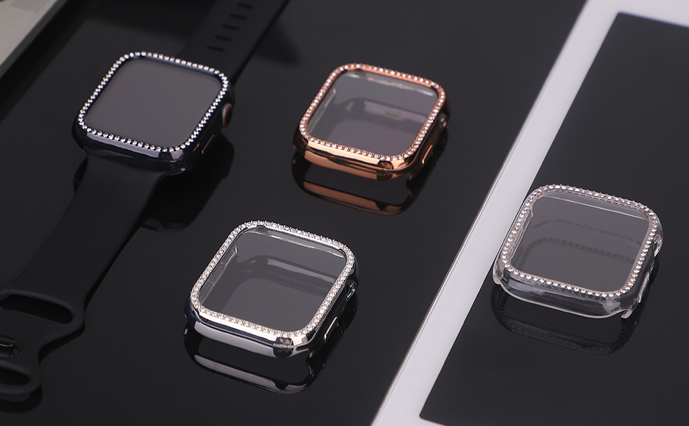Case for Apple Watch Screen Protector Series 6 / SE/Series 5/Series 4 40mm 44mm
