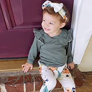 baby girl fall outfit