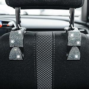 bling car seat hooks
