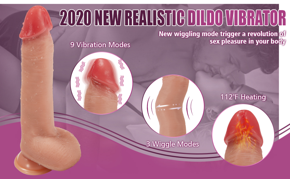 New Realistic Dildo
