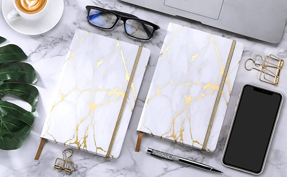5.6×8.3 Hardcover Notebook with Premium Thick Paper Classic Ruled Notebook//Journal Perfect for Office Home School Business Writing /& Note Taking