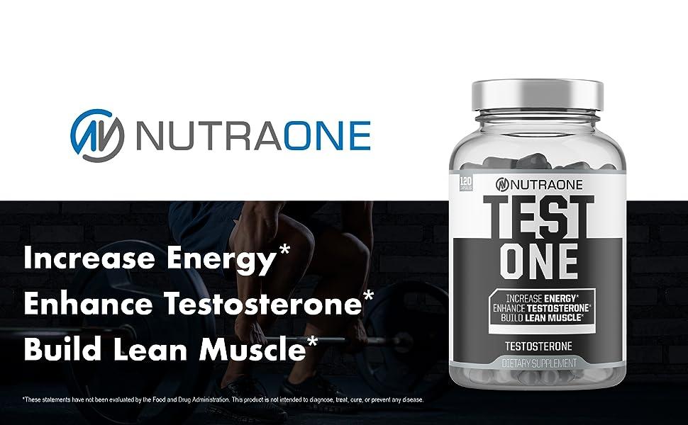 Increase Energy Enhance Testosterone Build Lean Muscle
