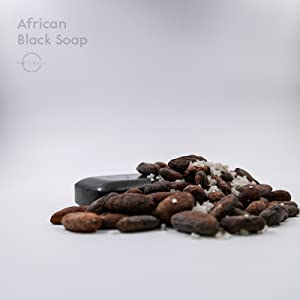 african black, soap, triple milled, african black soap, natural